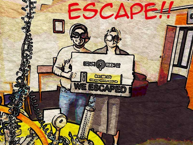 how to play escape room escaped